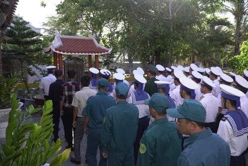 Hommage aux soldats morts à Gac Ma - ảnh 1