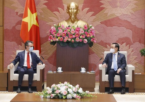 Covid-19: Le Vietnam souhaite obtenir une aide vaccinale de la part de l'UE - ảnh 1
