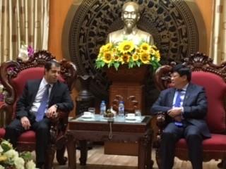 Tổng giám đốc Đài TNVN tiếp Đại sứ Cộng hòa Azerbaijan tại Việt Nam - ảnh 1