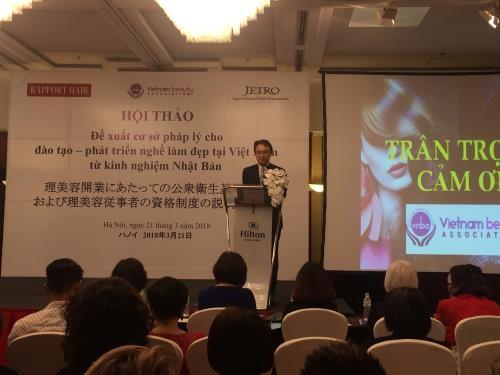 Đề xuất cơ sở pháp lý cho đào tạo, phát triển nghề làm đẹp tại Việt Nam  - ảnh 1