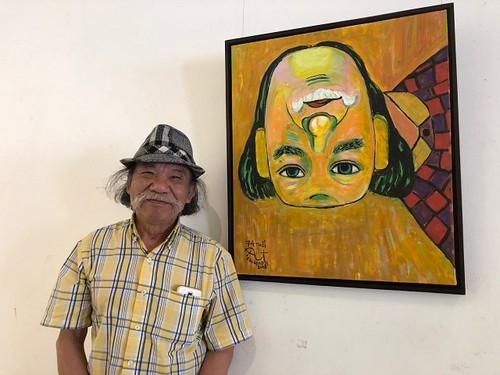 Nghệ thuật đảo ngược Nguyễn Đại Giang: Trở về với hồn vía dân tộc - ảnh 1