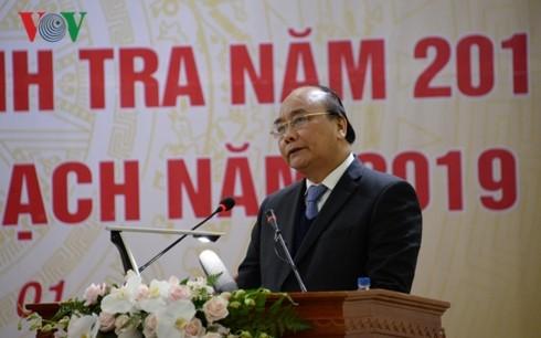 Thủ tướng Nguyễn Xuân Phúc dự Hội nghị tổng kết ngành Thanh tra  - ảnh 1
