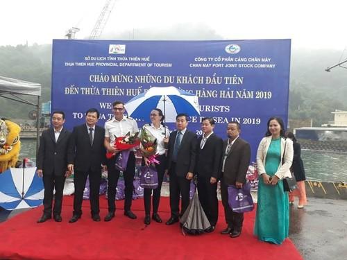 Tỉnh Thừa Thiên - Huế đón các du khách quốc tế đầu tiên bằng đường biển - ảnh 1