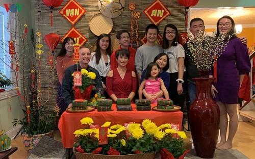 Tết giản dị nhưng ấm cúng trong gia đình người Việt ở Mỹ - ảnh 4