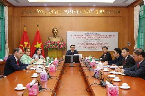 Trao đổi biện pháp thúc đẩy quan hệ Việt Nam - Cuba - ảnh 1