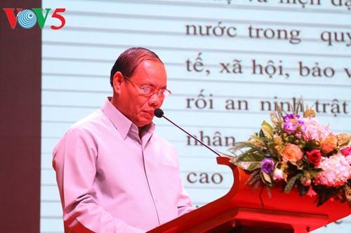 Kỷ niệm 75 năm truyền thống lực lượng CAND Việt Nam tại Lào - ảnh 1