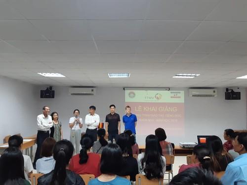 Trung tâm ngoại ngữ MV: Góp một nhịp cầu hợp tác giáo dục kinh tế Việt - Đức - ảnh 3