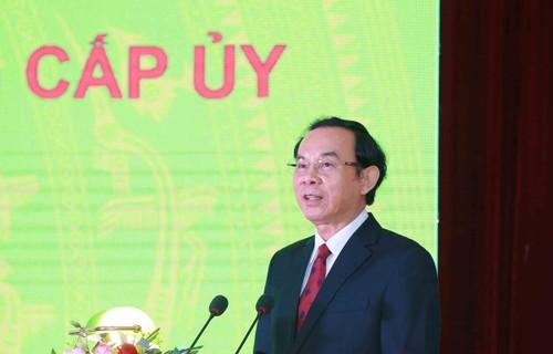 Ông Nguyễn Văn Nên được bầu giữ chức Bí thư Thành ủy Thành phố Hồ Chí Minh - ảnh 1