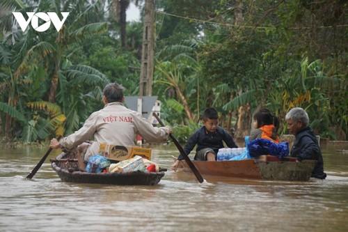 Điện thăm hỏi của Myanamar về lũ lụt ở miền Trung Việt Nam - ảnh 1