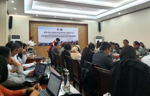 Các Đối tác giảm nhẹ rủi ro thiên tai cam kết hỗ trợ gần 3 triệu USD cho người dân miền Trung - ảnh 1