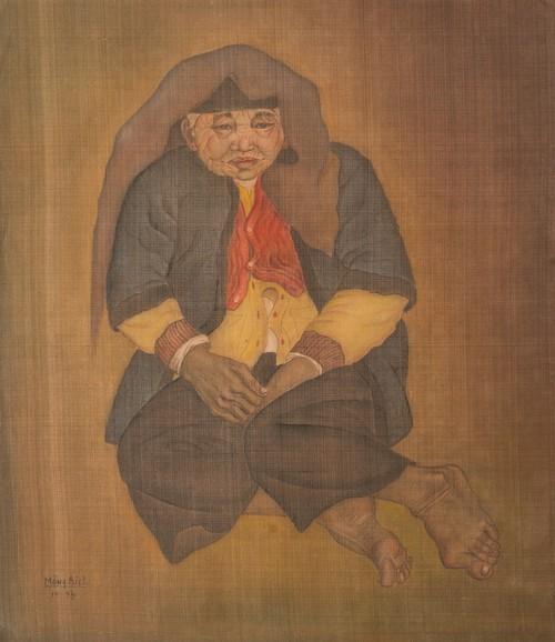 Họa sĩ Mộng Bích - cây đại thụ của làng tranh lụa Việt ra triển lãm đầu tiên - ảnh 4