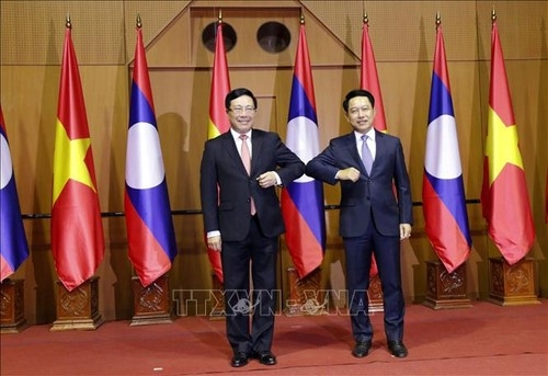 Việt Nam - Lào nhất trí triển khai tốt các chương trình hợp tác song phương  - ảnh 1