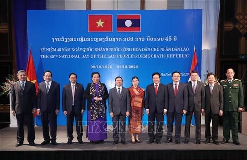 Không ngừng củng cố và vun đắp cho mối quan hệ hữu nghị Việt Nam – Lào - ảnh 2
