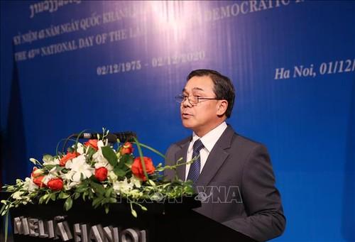 Không ngừng củng cố và vun đắp cho mối quan hệ hữu nghị Việt Nam – Lào - ảnh 1