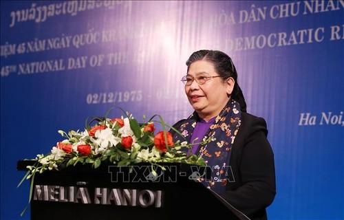 Không ngừng củng cố và vun đắp cho mối quan hệ hữu nghị Việt Nam – Lào - ảnh 3
