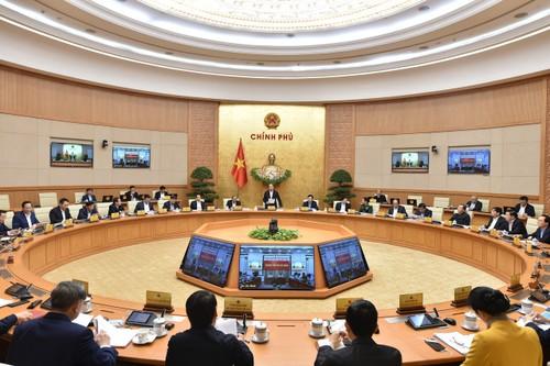 Thủ tướng Nguyễn Xuân Phúc chủ trì Phiên họp Chính phủ thường kỳ tháng 11 - ảnh 1