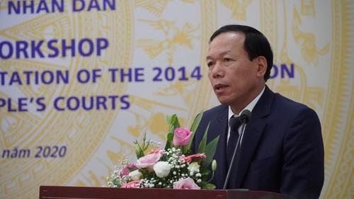 Đánh giá 5 năm thi hành Luật Tổ chức Tòa án nhân dân - ảnh 2