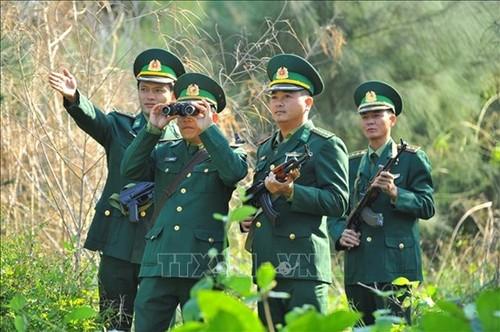 Tăng cường lực lượng quản lý, bảo vệ biên giới phòng, chống dịch COVID-19 - ảnh 1