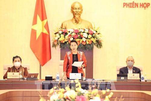 Khai mạc phiên họp thứ 53 của Ủy ban Thường vụ Quốc hội - ảnh 1
