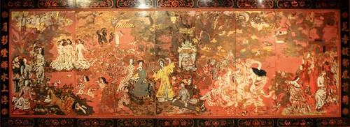 Tranh sơn khắc và sơn mài thời mỹ thuật Đông Dương - ảnh 3