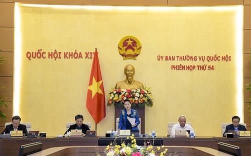 Bế mạc Phiên họp thứ 54 Ủy ban Thường vụ Quốc hội - ảnh 1