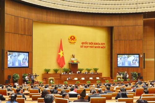 Thông cáo báo chí số 4 của kỳ họp thứ 11 Quốc hội khóa XIV - ảnh 1