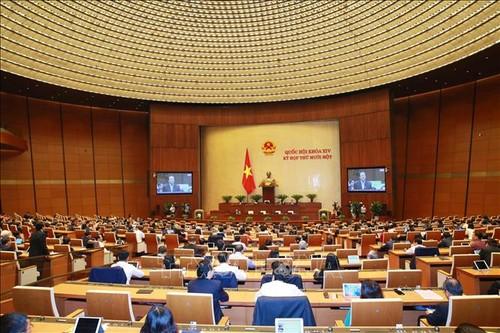 Quốc hội thảo luận báo cáo Tư pháp - ảnh 1