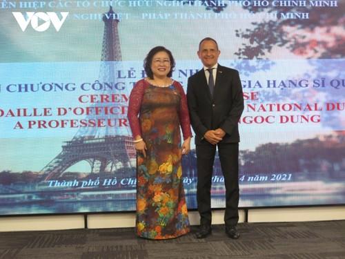 Chính phủ Pháp vinh danh Phó Giáo sư, Tiến sĩ Nguyễn Thị Ngọc Dung - ảnh 1