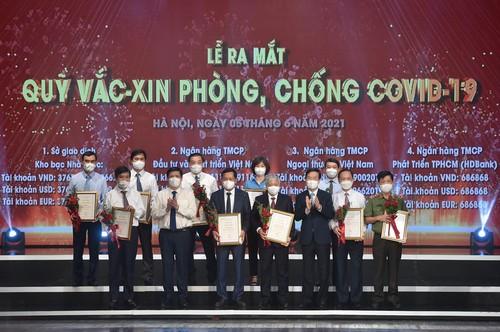 Đại diện nhiều tổ chức quốc tế tại Việt Nam đánh giá cao Quỹ vaccine phòng COVID-19 - ảnh 1