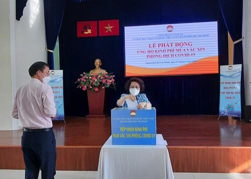 Các bộ ngành, địa phương, kiều bào chung tay ủng hộ Quỹ vaccine phòng chống COVID-19 - ảnh 1