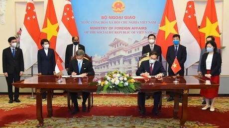 Triển khai hiệu quả quan hệ Đối tác Chiến lược Việt Nam - Singapore - ảnh 1
