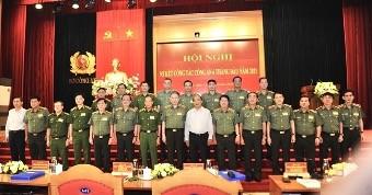 Chủ tịch nước Nguyễn Xuân Phúc dự hội nghị sơ kết công tác Công an 6 tháng  - ảnh 2