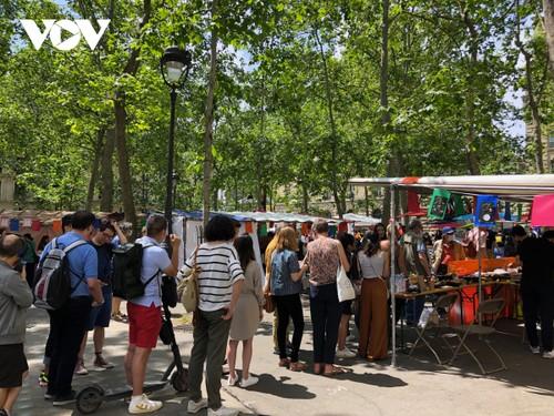 Ngày hội văn hóa, ẩm thực Việt Nam tại trung tâm thủ đô Paris (Pháp) - ảnh 2
