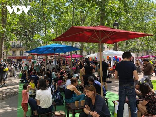 Ngày hội văn hóa, ẩm thực Việt Nam tại trung tâm thủ đô Paris (Pháp) - ảnh 3