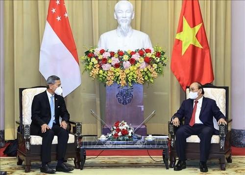 Singapore mong muốn phát triển hơn nữa quan hệ Đối tác chiến lược với Việt Nam - ảnh 1