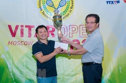 Giải quần vợt ViTAR Mở rộng Hè 2021 của người Việt tại Nga - ảnh 1