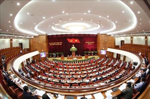 Ngày làm việc thứ nhất của Hội nghị lần thứ ba Ban Chấp hành Trung ương Đảng khóa XIII - ảnh 1