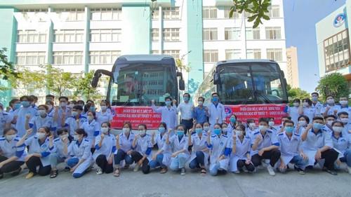 Thành phố Đà Nẵng hỗ trợ tỉnh Phú Yên chống dịch COVID-19 - ảnh 1