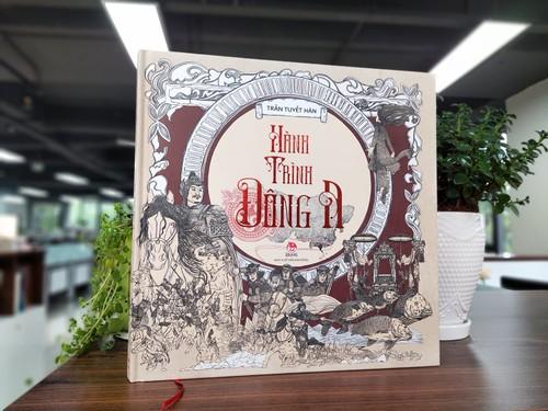 Artbook Hành trình Đông A của họa sĩ 9X Trần Tuyết Hàn - ảnh 4