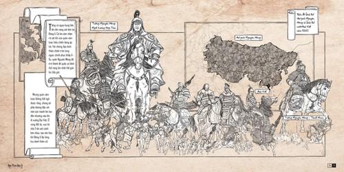 Artbook Hành trình Đông A của họa sĩ 9X Trần Tuyết Hàn - ảnh 3