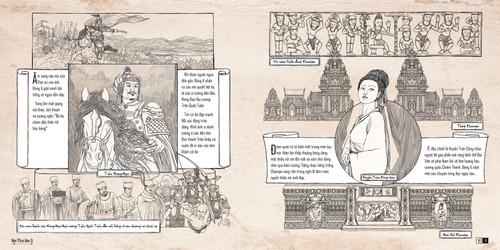 Artbook Hành trình Đông A của họa sĩ 9X Trần Tuyết Hàn - ảnh 2