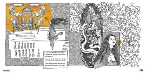 Trần Tuyết Hàn với artbook Hành trình Đông A: thêm một tác giả trẻ tìm về lịch sử - ảnh 5