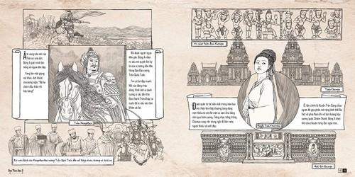Trần Tuyết Hàn với artbook Hành trình Đông A: thêm một tác giả trẻ tìm về lịch sử - ảnh 4