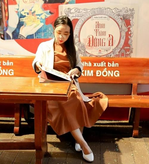Trần Tuyết Hàn với artbook Hành trình Đông A: thêm một tác giả trẻ tìm về lịch sử - ảnh 6