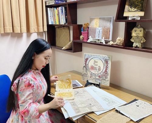 Trần Tuyết Hàn với artbook Hành trình Đông A: thêm một tác giả trẻ tìm về lịch sử - ảnh 3