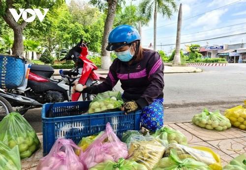 Huyện Tháp Mười, tỉnh Đồng Tháp tìm hướng tiêu thụ nông sản cho người dân - ảnh 1