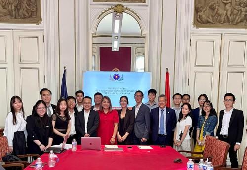 Liên hiệp Hội Thanh niên Sinh viên Việt Nam tại châu Âu nhiệm kỳ 2021 – 2023 chính thức được thành lập - ảnh 1