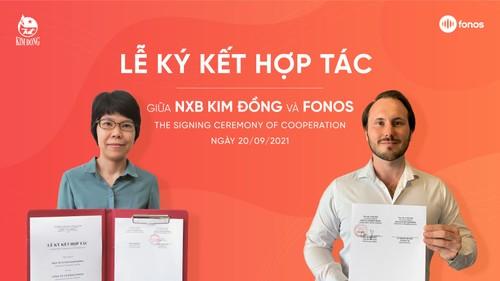 NXB Kim Đồng  và  FONOS  tặng sách nói cho thiếu nhi nhân dịp Trung thu - ảnh 2