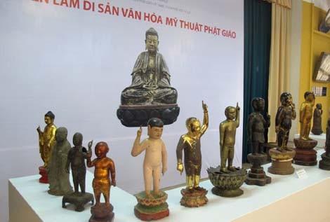 Exposición conmemorativa del 2557 aniversario del nacimiento y la iluminación de Buda en Vietnam - ảnh 1