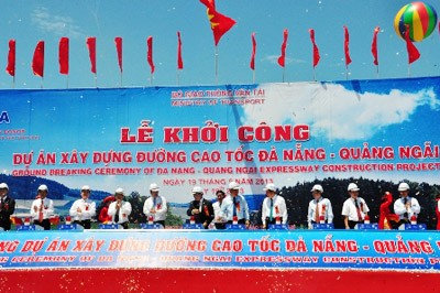 Vietnam inicia el proyecto de construción de la autovía Da Nang – Quang Ngai  - ảnh 1